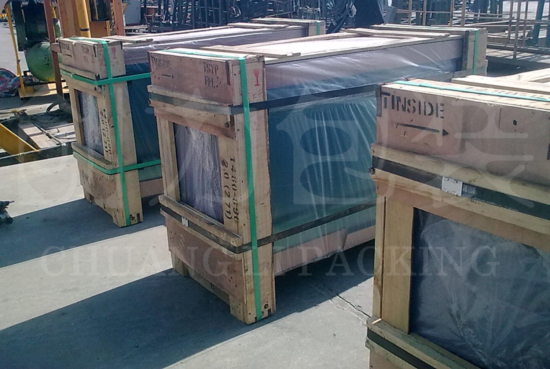 ORT260电动打包机,福耀玻璃打包