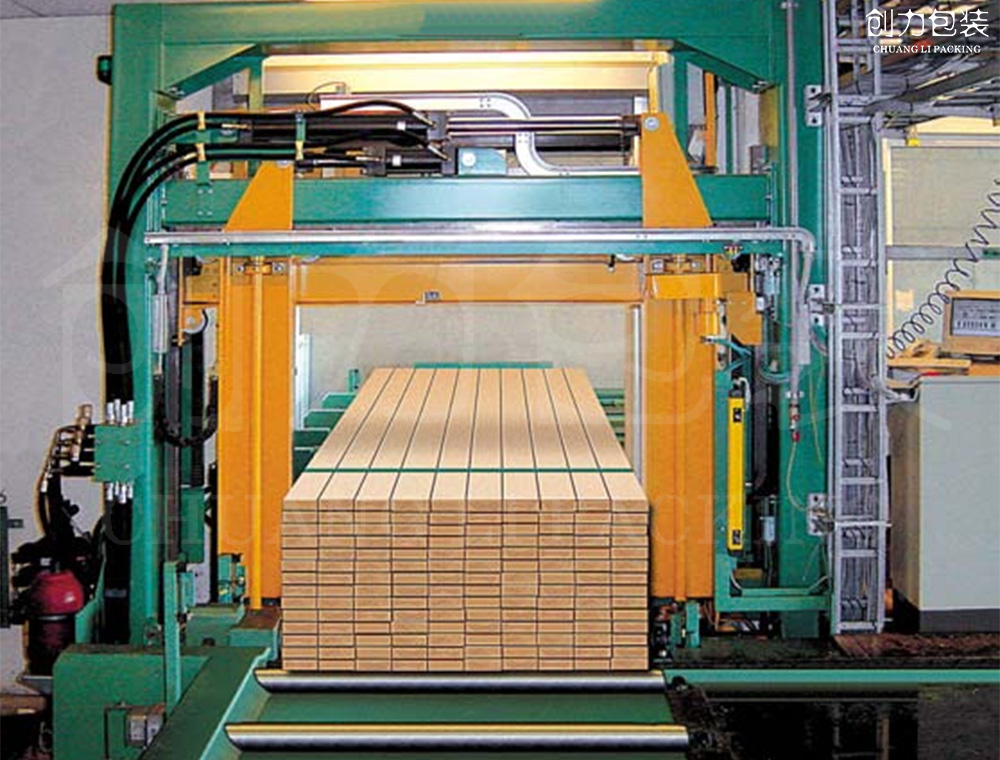 密度板该如何打包,全自动打包设备来帮忙