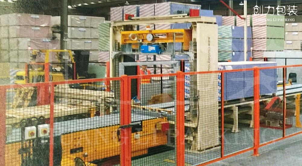 石膏板全自动打包机的特点,实用性更高